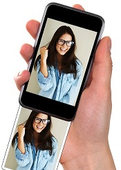 <em>Fotos und Selfies am Handy?</em>