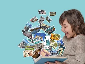 Erlebnisse und Erinnerungen im <em>Fotobuch</em> festhalten