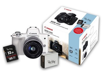 Canon EOS M50 <em>Special Edition Kit</em> inkl. EF-M 3,5-6,3/15-45 mm IS STM